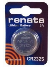 Battery, Single Cell, 3 V, 2325, Lithium Manganese Dioxide, 190 mAh, Pressure Contact, 23 mm