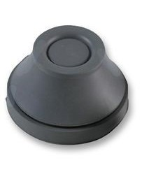 Grommet, M12, Cable Retention, 4 mm, 7 mm, EPDM Rubber (Ethylene Propylene Diene Monomer Rubber)