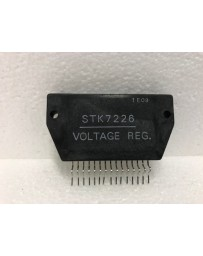 stk7226 (vcr)voltage regulator +5.1v / 1a-13v / 4a case: sil-15.