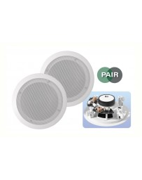 E-AUDIO Plafond speaker wit 80w 8ohm set