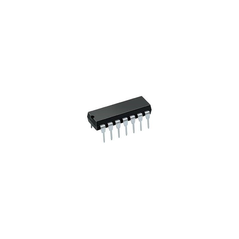 Cd4011 Quad 2 Input Nand Gate