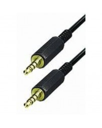 2x 3.5mm 4 polig trrs kabel male male 1 mtr