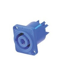 Connector Speaker Female PVC Blauw