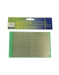 EUROCARD IC PATROON - 100x160mm - FR4 (1st./bl.)