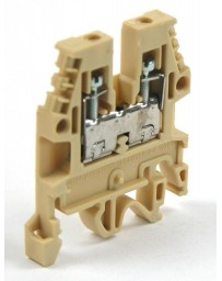 DIN-Rail aansluitklem max 2,5mm² - 5mm breed