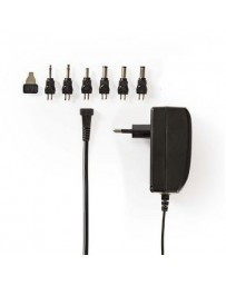 Nedis Universal AC Power Adapter | 9.0/12/13.5/15/18/20/24 VDC | 1.0 A - 1.5 A