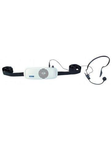 Waistband Amplifier With Headband Microphone 5W