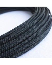 Braid sleeve 8mm 5mtr zwart