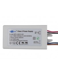 LED-VOEDING - 1 UITGANG - 12 VDC - 10 W