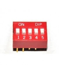 Dip switch 5 polig